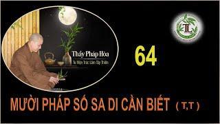 Từng Giọt Sữa Thơm 64 - Thầy Thích Pháp Hòa (Tv Trúc Lâm, Ngày 17.9.2020)
