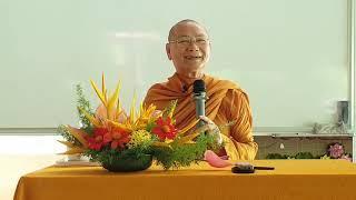 Bài giảng của Sư ông Viên Minh tại Ni viện Viên Không ngày 23 - 08 - 2019