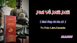 Nơi Về Mãi Mãi - Thầy Thích Pháp Hòa (Tv. Trúc Lâm.Ngày 21.3.2021)