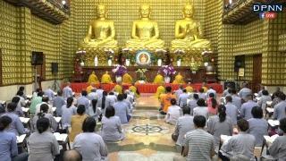 """Tụng """"KINH ĐỊA TẠNG""""  tại chùa Giác Ngộ  lúc 6h 45 ngày 28/08/2018"""