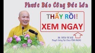 Phước báo công đức lớn [ trồng cây phước có phước]    Thầy Thích Trí Huệ