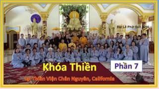 TT Thích Trí Siêu - Khóa Thiền tại Chân Nguyên - Phần 7