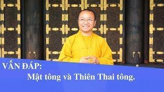 Vấn đáp: Mật tông và Thiên Thai tông   Thích Nhật Từ