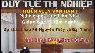 Sự khác nhau Phật giáo Nguyên Thủy và Đại Thừa