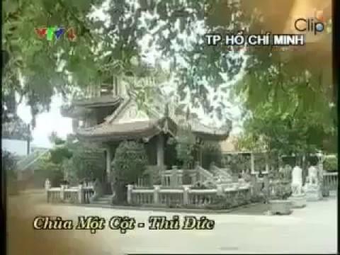 Thăm chùa một cột ở TP Hồ Chí Minh