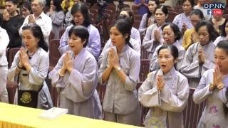 """Trực tiếp: TT. Thích Nhật Từ giảng trong khóa tu """"Thiền cho người bận rộn"""""""