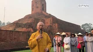 Tháp Chaukhandi, nơi Đức Phật gặp gỡ 5 anh em Kiều Trần Như tại Vườn Nai