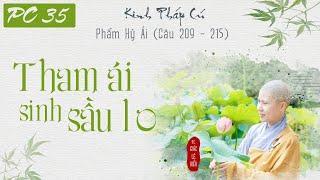 Tham Ái Sinh Sầu Lo. Kinh Pháp Cú. Phẩm Hỷ Lạc. Kệ 209-215. SC. Giác Lệ Hiếu
