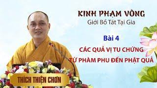 Kinh Phạm Võng - Bài 4: Các quả vị tu chứng từ phàm phu đến Phật quả - Thích Thiện Chơn