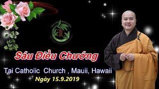 Sáu Điều Chướng - Thầy Thích Pháp Hòa ( Chùa Từ Hạnh Mauii, Hawaii , ngày 15.9.2019 )