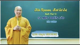 51 Món Phiền Não - Tâm Vương || Đại đức Thích Trí Huệ