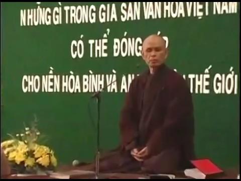 Những gì trong gia sản văn hóa Việt Nam có thể đóng góp cho nền hòa bình & an vui thế giới - p3