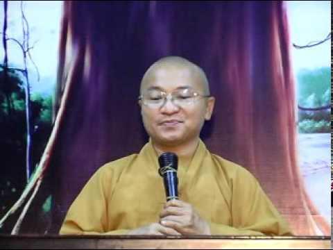 Kinh Pháp Cú 20: Đạo Phật - Con đường đạo đức và tâm linh (17/04/2011) video do Thích Nhật Từ giảng