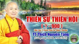 252 . Thiền Sư Thiện Hội, Đời thứ 2, Thiền Phái Vô Ngôn Thông | TT Nguyên Tạng giảng