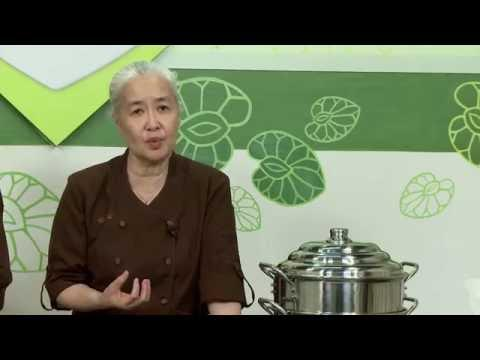 Món chay 177 - Cà bát hấp xì dầu