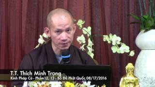 Kinh Pháp Cú   Phẩm 12, 13   Thầy Minh Trọng