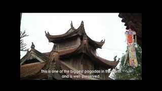 Chùa Bút Tháp - Tuyệt tác của kiến trúc và điêu khắc cổ
