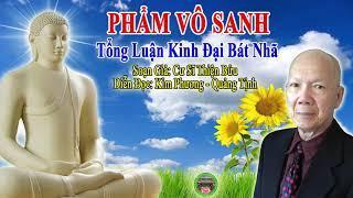 Phẩm Vô Sanh - Tổng Luận Đại Bát Nhã (Soạn Giả: CS Thiện Bửu; Diễn đọc: CS Quảng Tịnh KP)