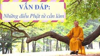 Vấn đáp: Những điều Phật tử cần làm