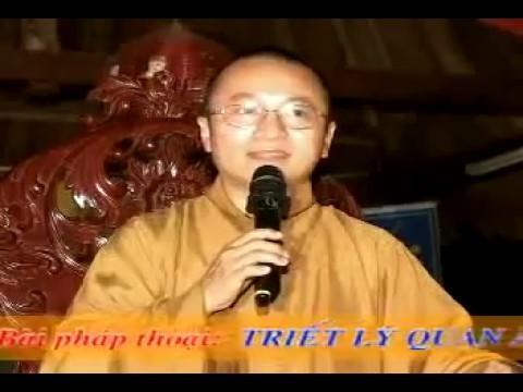 Triết lý Quan Âm Diệu Thiện (10/01/2010) video do Thích Nhật Từ giảng
