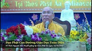 Đạo Phật Con Đường Giáo Dục Toàn Diện