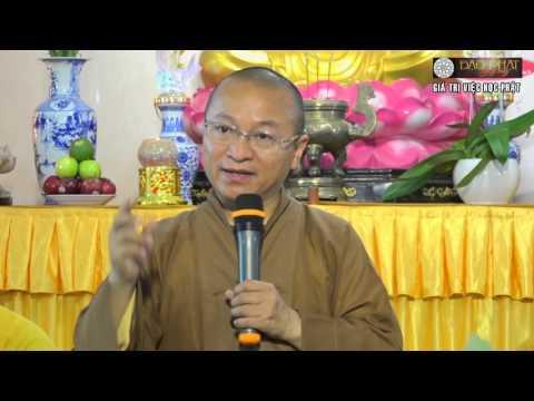 Giá trị việc học Phật - 20/11/2015