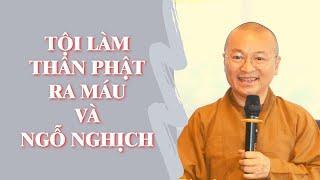 TỘI LÀM THÂN PHẬT RA MÁU VÀ NGỖ NGHỊCH | TT. Thích Nhật Từ