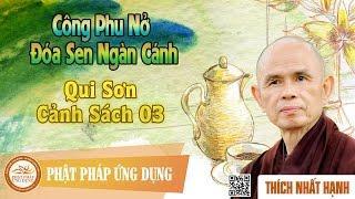 Công Phu Nở Đóa Sen Ngàn Cánh 77: Qui Sơn Cảnh Sách 3 - Thầy Thích Nhất Hạnh
