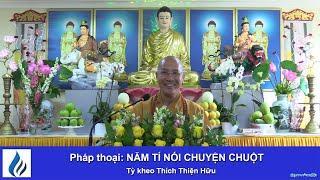 NĂM TÍ NÓI CHUYỆN CHUỘT 12.01.20 - TK Thích Thiện Hữu