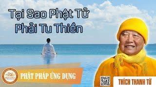 Tại sao Phật tử phải tu Thiền