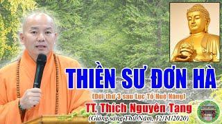184. Thiền Sư Đơn Hà Thiên Nhiên | TT Thích Nguyên Tạng giảng
