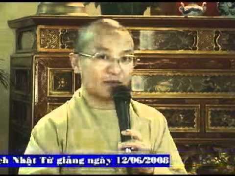 Vấn đáp Phật pháp tại chùa Bát Mẫu (12/06/2008) video do Thích Nhật Từ giảng