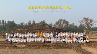 HÀNH HƯƠNG PHẬT TÍCH ẤN ĐỘ - NEPAL THÁNG 02 - NĂM 2020 - DVD1