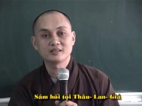Sám Hối Tội Thâu Lan Giá Của Tỳ Kheo (phần 1)