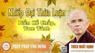Nhiếp Đại Thừa Luận - Biến Kế Chấp, Tam Tánh - Thầy Thích Nhất Hạnh giảng