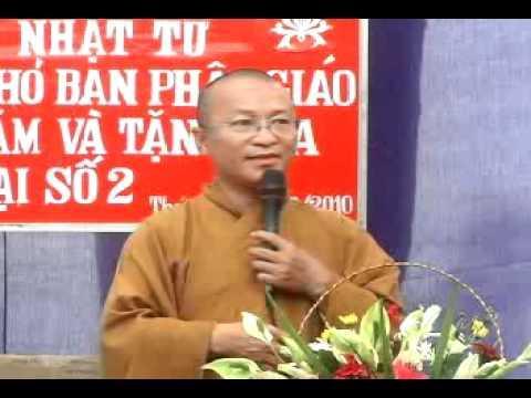 Đừng quên tình đời (01/05/2010) video do Thích Nhật Từ giảng
