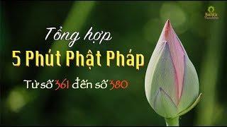 """Tổng Hợp """"5 Phút Phật Pháp"""" (Từ số 361 đến 380)"""