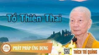 Tổ Thiên Thai