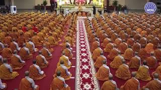 THỰC TẬP THIỀN TỌA  Dưới sự hướng dẫn của Đại lão Hòa thượng THÍCH TRÍ QUẢNG