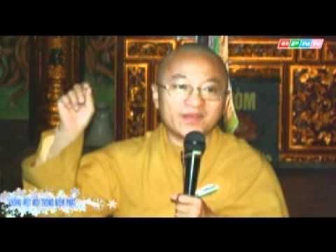 Kinh Niệm Phật Ba La Mật 17: Không mệt mỏi (10/12/2011) video do Thích Nhật Từ giảng