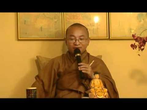 Để được an vui (Phẩm An Vui, Kinh Pháp Cú) - Phần 2/2 (14/08/2007) Thích Nhật Từ giảng