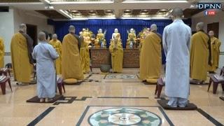 TT. Thích Nhật Từ hướng dẫn thiền Vipassana sau thời tụng kinh sáng Ngày 18-5-2018