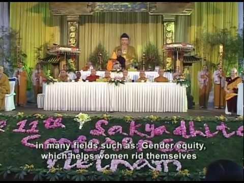 Hội nghị Nữ Giới Phật Giáo thế giới lần 11 tại Tp.HCM
