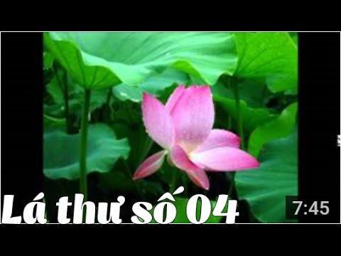 Thư Thầy Trò - Thư số 4 - Giọt nước mắt kỳ diệu