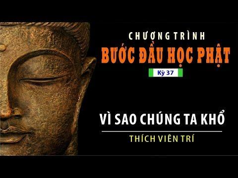 Bước Đầu Học Phật kỳ 37: Vì Sao Chúng Ta Khổ ?