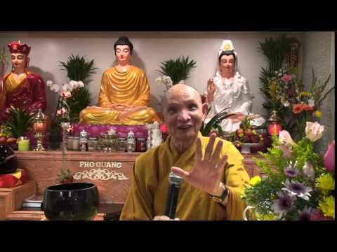 Sự Mầu Nhiệm Của Pháp Sám Hối (Giảng Tại Niệm Phật Đường Phổ Quang)