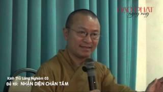 Kinh Thủ Lăng Nghiêm 03: Nhận Diện Chân Tâm (21/01/2013) video do Thích Nhật Từ giảng
