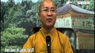 Kinh Quán Vô Lượng Thọ 01: Tù Ngục và Cực Lạc (16/09/2012) video do Thích Nhật Từ giảng