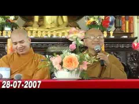 Ba Tuệ Giác Lớn - Phần 1/2 (29/07/2007) video do Thích Nhật Từ giảng