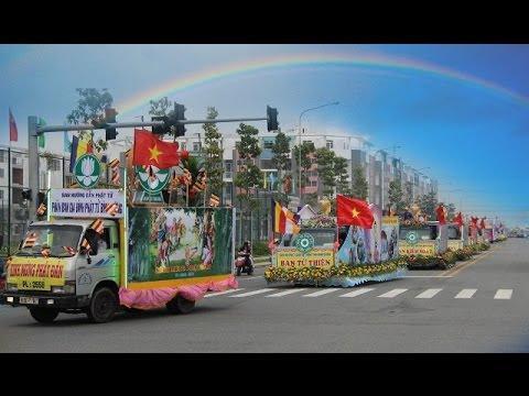 Xe Hoa Mừng Lễ Phật Đản Vesak 2014  tại Bình Dương